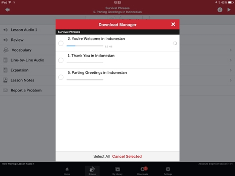 iPad - Innovative Language 101: Learn Indonesian on the go!