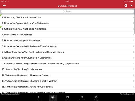 iPad - Innovative Language 101: Learn Vietnamese on the go!