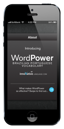 Screenshot 1 - Learn Brazilian Portuguese - Free WordPower