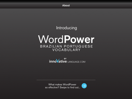Screenshot 1 - Learn Brazilian Portuguese - WordPower