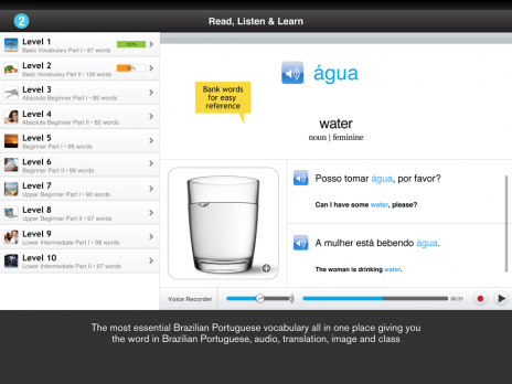 Screenshot 3 - Learn Brazilian Portuguese - WordPower