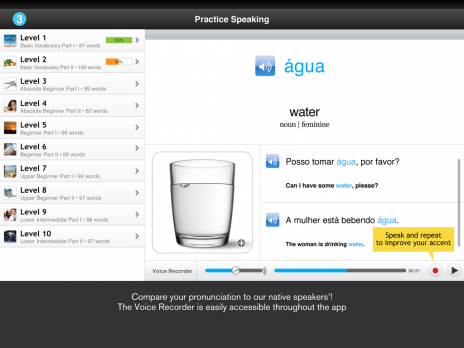 Screenshot 4 - Learn Brazilian Portuguese - WordPower
