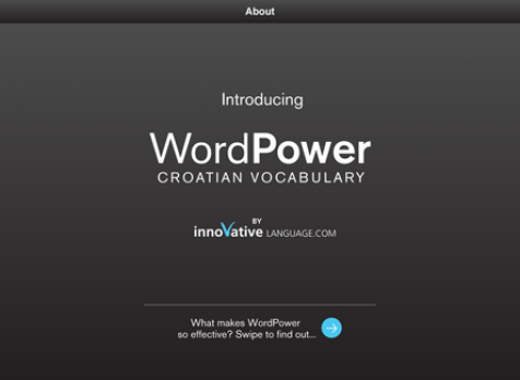 Screenshot 1 - Learn Croatian - WordPower