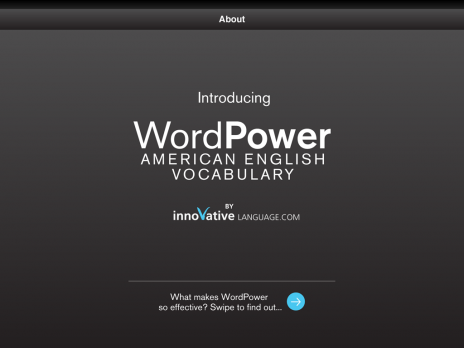Screenshot 1 - WordPower for iPad - English (US)
