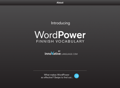 Screenshot 1 - Learn Finnish - WordPower